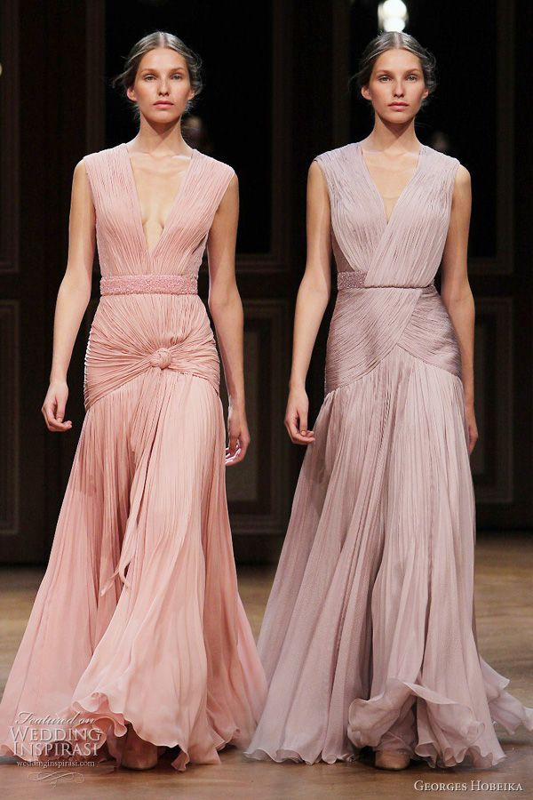Georges Hobeika Fall 2011 Couture Collection | Vestidos de fiesta ...