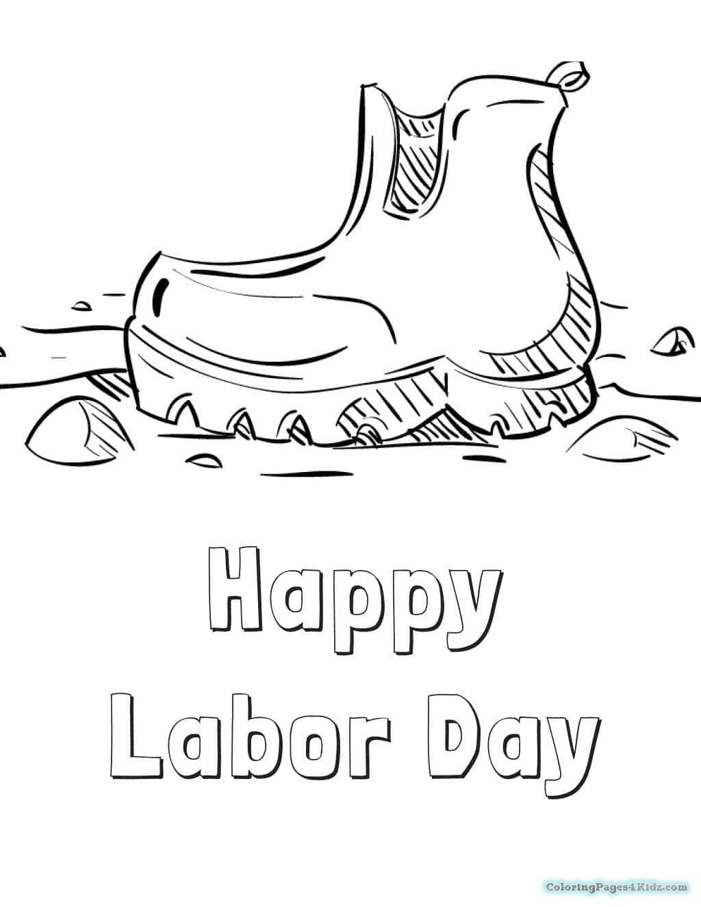 Free Labor Day Coloring Pages Pictures