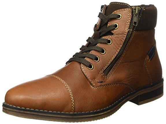 Rieker Herren F3923 Klassische Stiefel, Braun (MarronMoro