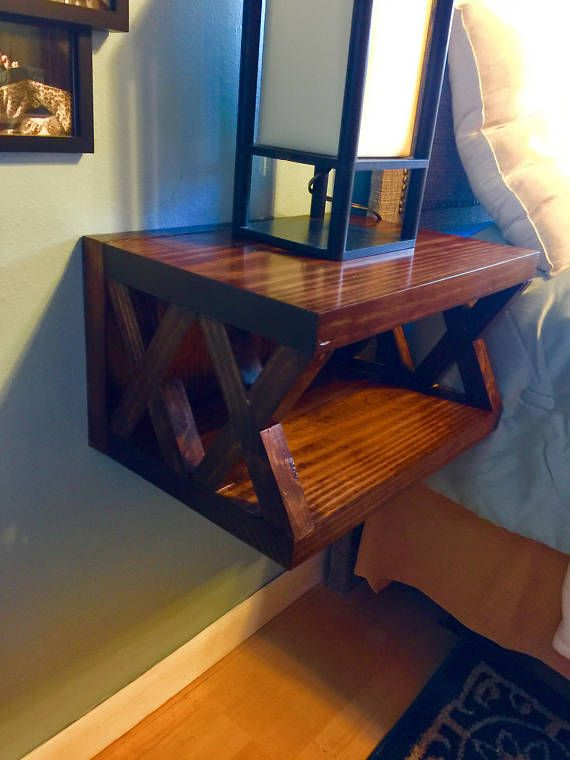 X Floating Nightstand