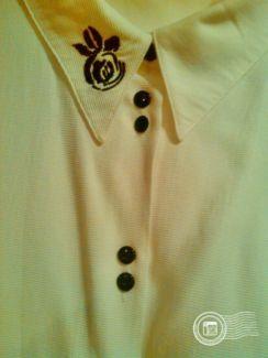 Damen Bluse Hemd Gr.48 Weiß in Stuttgart - Bad-Cannstatt   eBay  Kleinanzeigen 27361eb581