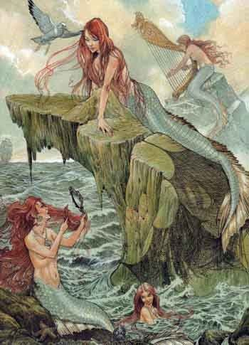 Any art thats mermaid works for me