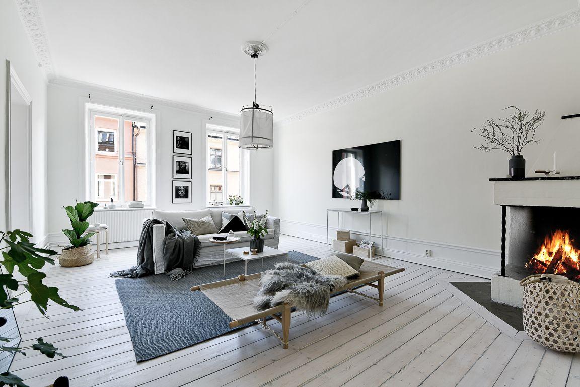 Gravity Home  : White apartment via HusmanHagberg...