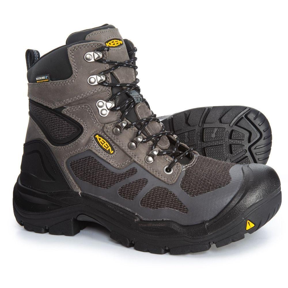 Keen Concord Waterproof, Steel Toe Boot US 13 D NIB USA