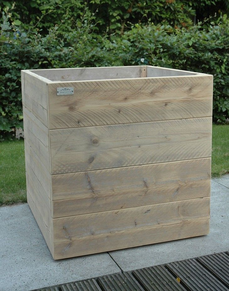Langwerpige Houten Plantenbakken Voor Buiten.Houten Bloembakken Zelf Maken 1 Ideeen Tuin Ideeen Tuin En