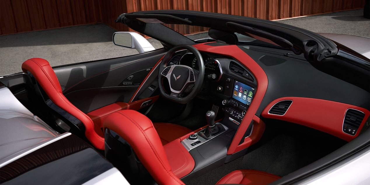 2018 Corvette Z06 Super Car Design Driver Pit 1