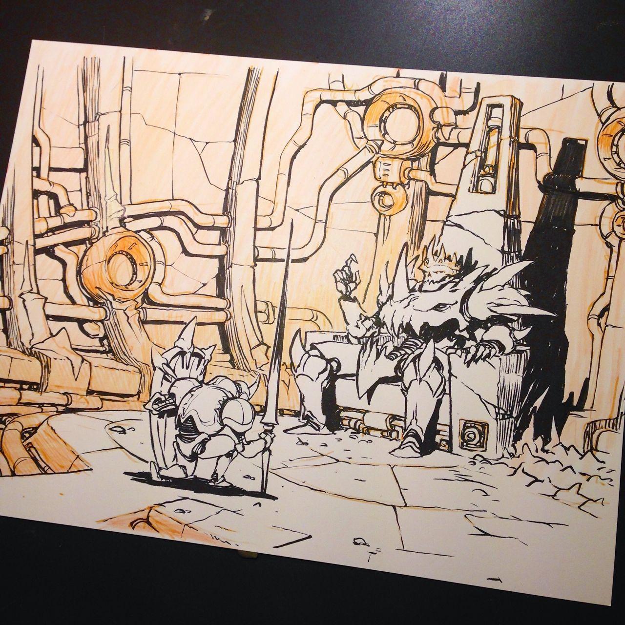 Mr jake parker graphic novel art cartoon styles inktober