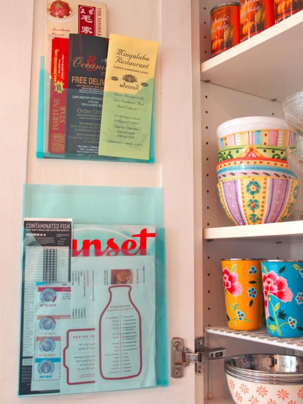 14 Easy Ways to Organize Small Stuff in the Kitchen: Pictures ...