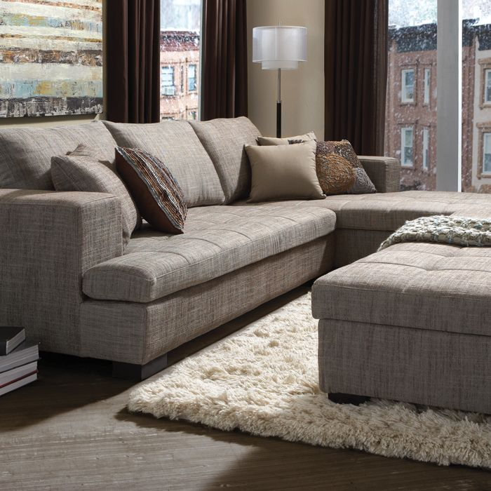 METROPOLITAN FABRIC SECTIONAL