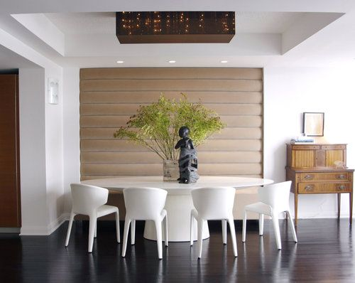 Modern aesthetic with vintage touches | Banquettes, Banquette ...