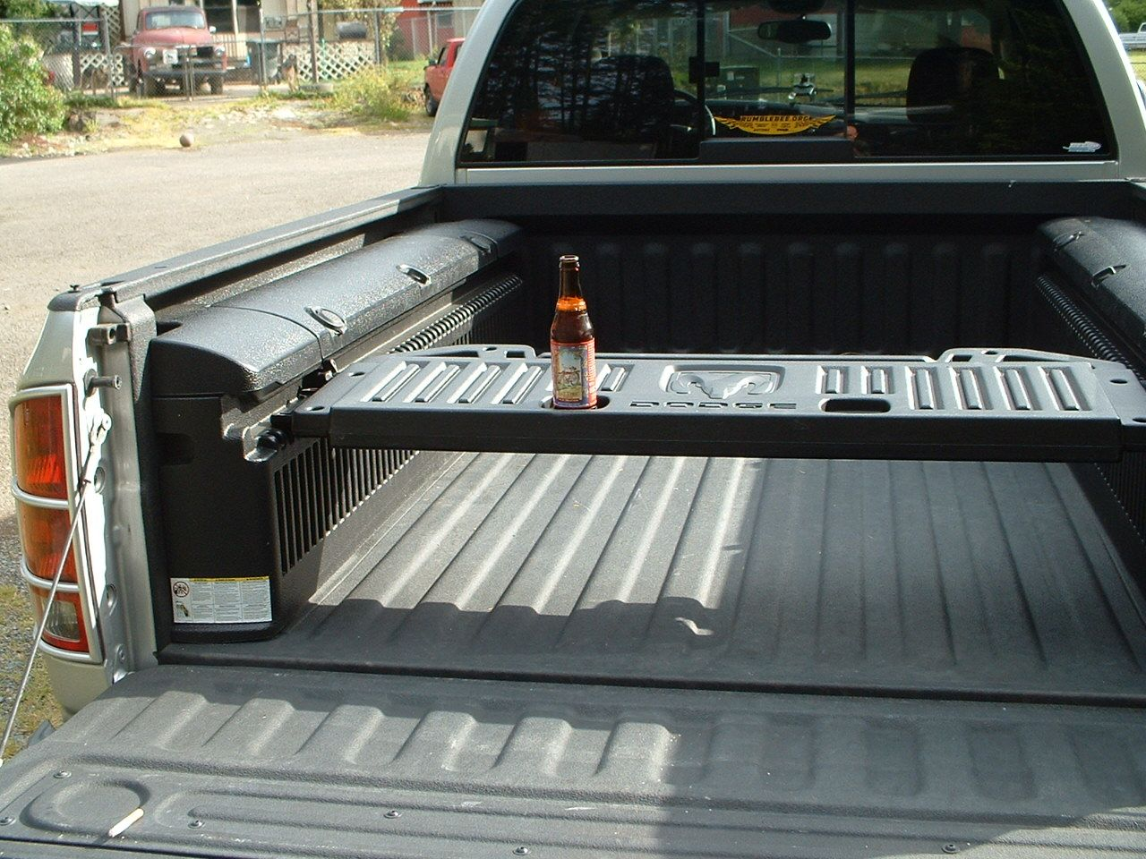 ActivGate as a table Truck accesories, Truck bed