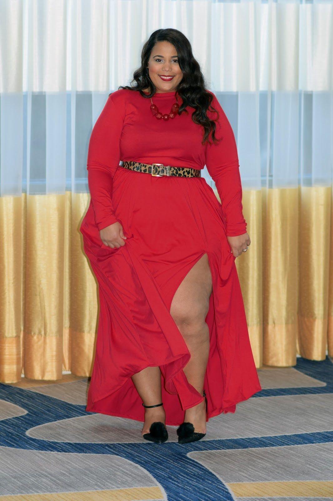 fa403f9865878 plussizeandcurvyfashion ♡  GarnerStyle Plus Size Holiday Outfit ...