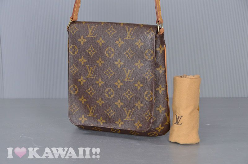 Authentic Louis Vuitton Monogram Musette Salsa Shoulder Bag M51257