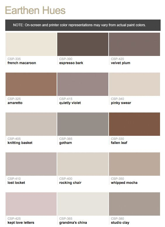 pin on color on benjamin moore interior paint chart id=78821