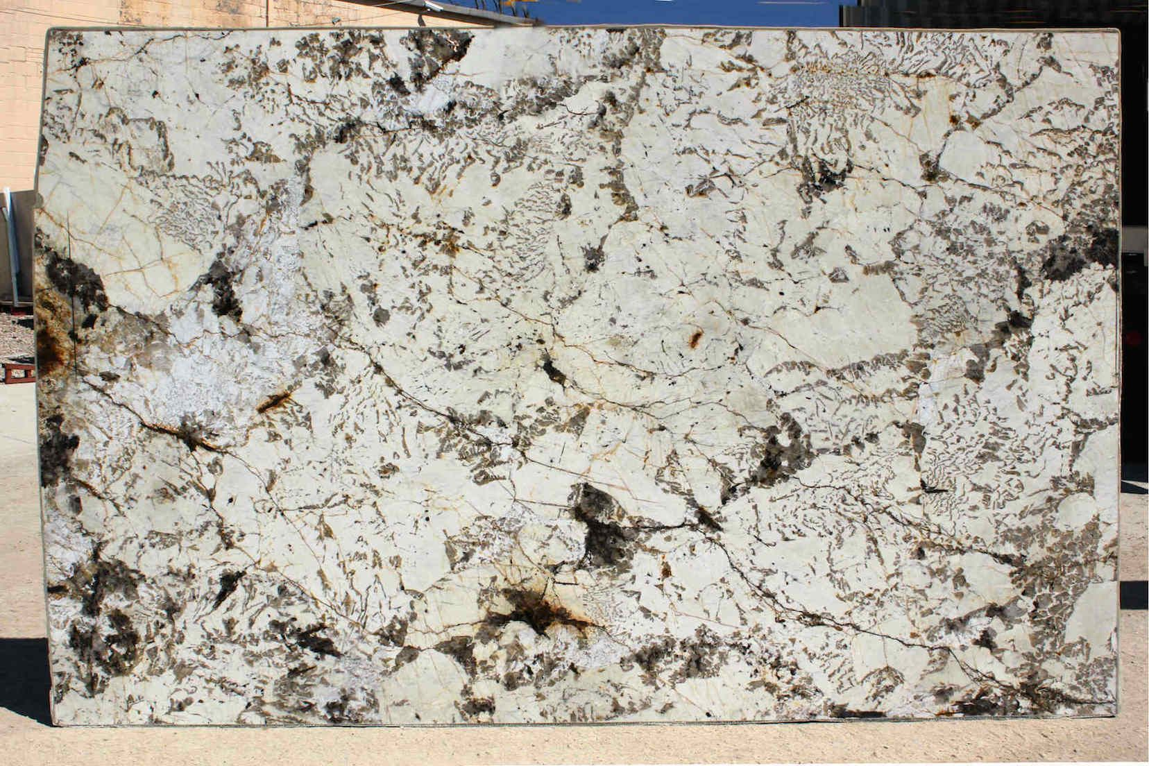 Blanc du Blanc granite, provided by Elements #granite #kitchen ...