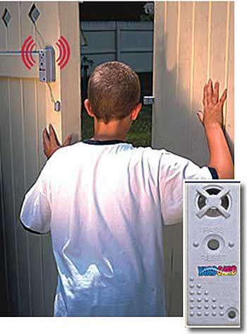 Don T Let Him In Yardguard Swimming Pool Gate Door Alarm System Pool Gate Door Alarms Alarm System