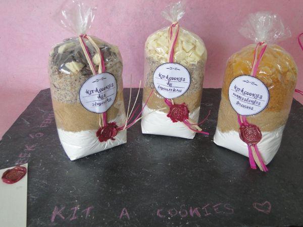 kit cookies recette cadeau gourmand pinterest cadeau. Black Bedroom Furniture Sets. Home Design Ideas