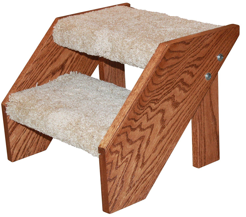 Best Premier Pet Steps Tall Open Riser Steps Carpeted Tread 400 x 300