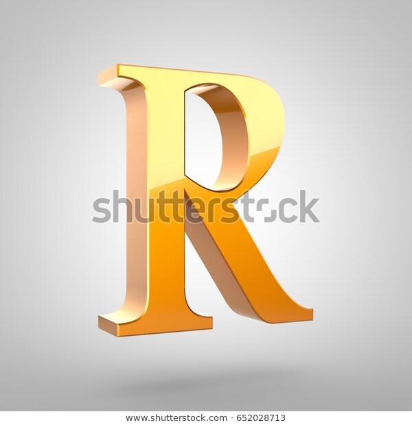 Gold Letter R Uppercase 3d Rendering Stock Illustration Shutterstock Alphabet Font Stockimage Illustration 3d Gold Letters Stock Illustration Letter R