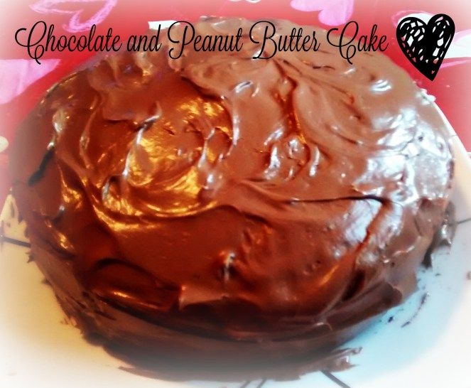 Chocolate and Peanut Butter Cake - Easy recipe from scratch!