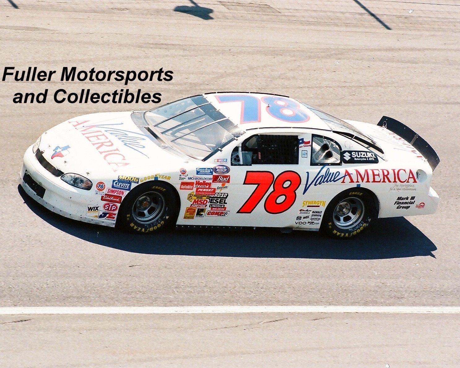 Rare Kevin Schwantz 78 Chevy 1999 Nascar Busch Series 8x10 Photo Charlotte