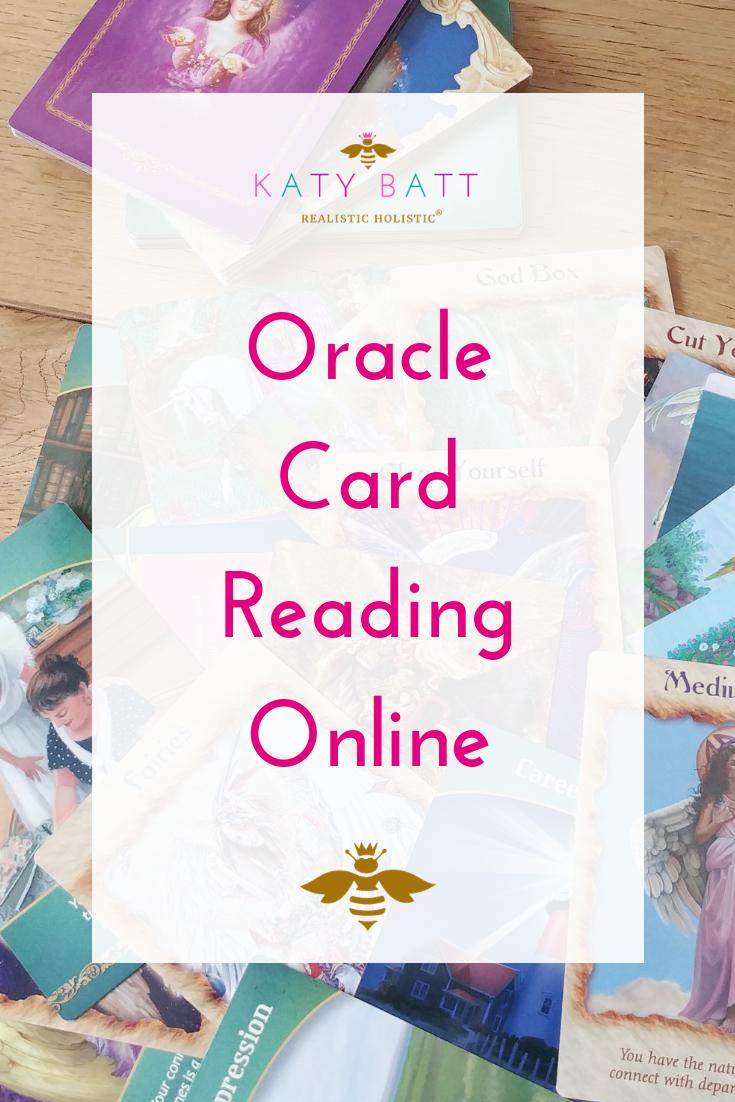 Oracle Card Reading - Crystal - Online - katybattshop