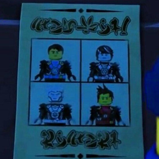 Proof. Proof that not even LEGO people can draw Kai's hair. XD