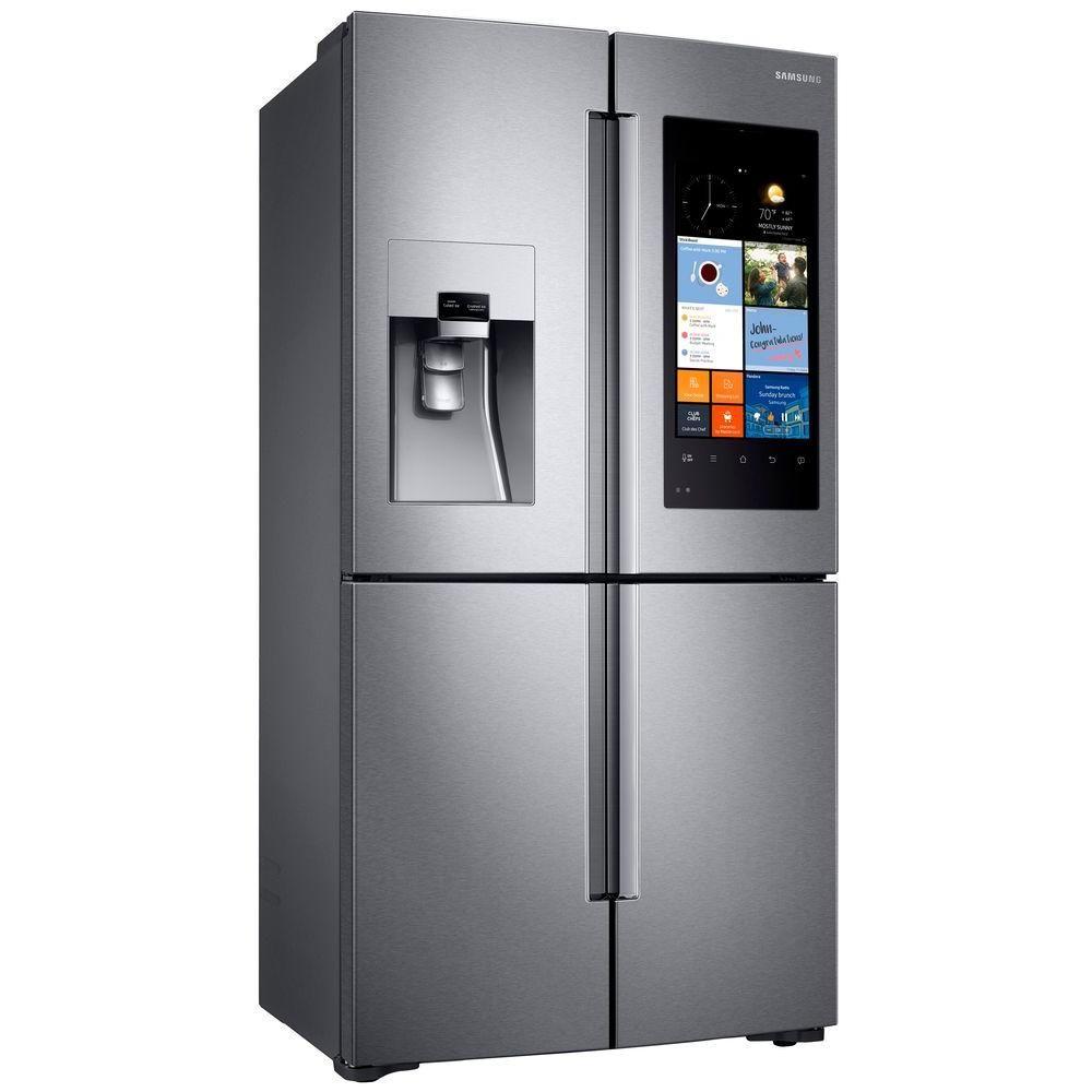Samsung 279 Cu Ft Family Hub 4 Door Flex French Door Refrigerator