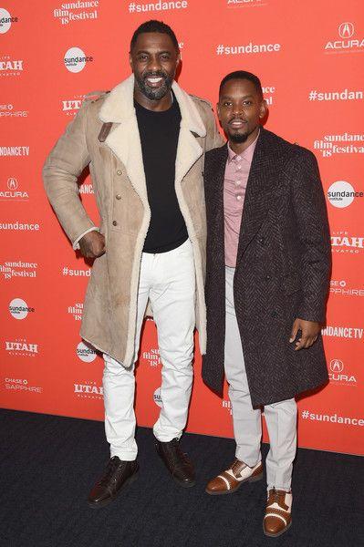f4cb5fa976ba Idris Elba Photos - Actors Idris Elba (L) and Aml Ameen attend