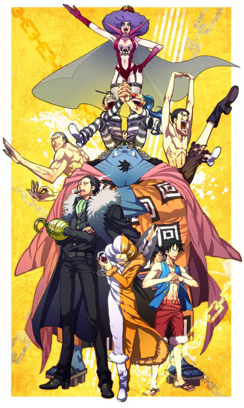 Arco Impel Down | One piece manga, One piece anime, One ...