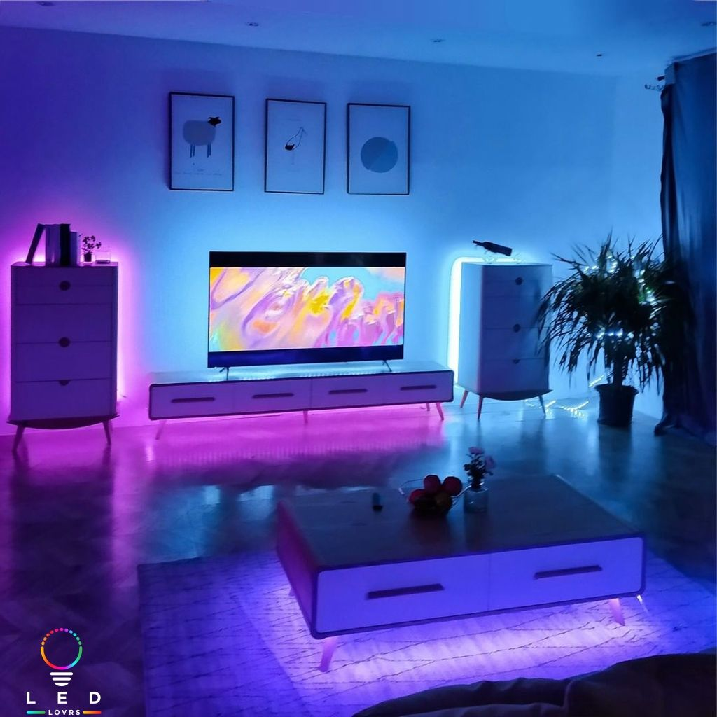 Pin By Chloe On Home 2021 Led Lighting Bedroom Led Living Room Lights Led House