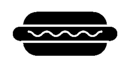 Hot Dog Dog Stencil Hot Dogs Stencils