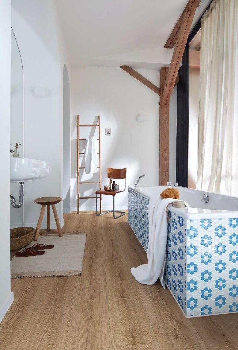 Wasserfester Designboden Von Meister Design Bodenbelag Vinylboden Stieleiche