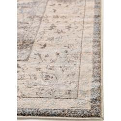 Photo of benuta classic teppich samt taupe 80×150 cm – vintage teppich im gebrauchten look