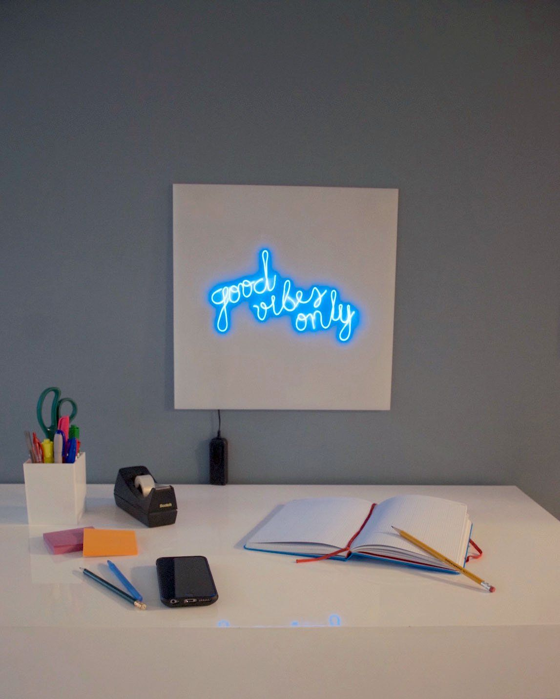 Create a Faux Neon Sign with EL Wire | Graphics, Create and Wire crafts