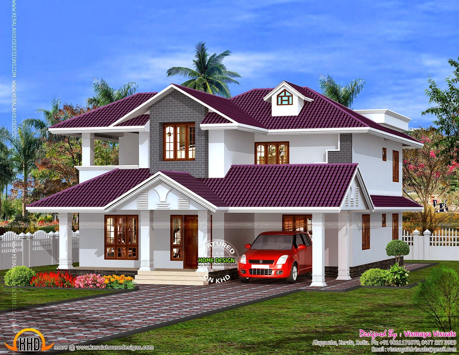 Beautiful House Roof Design House House Roof Design House Design Small House Design