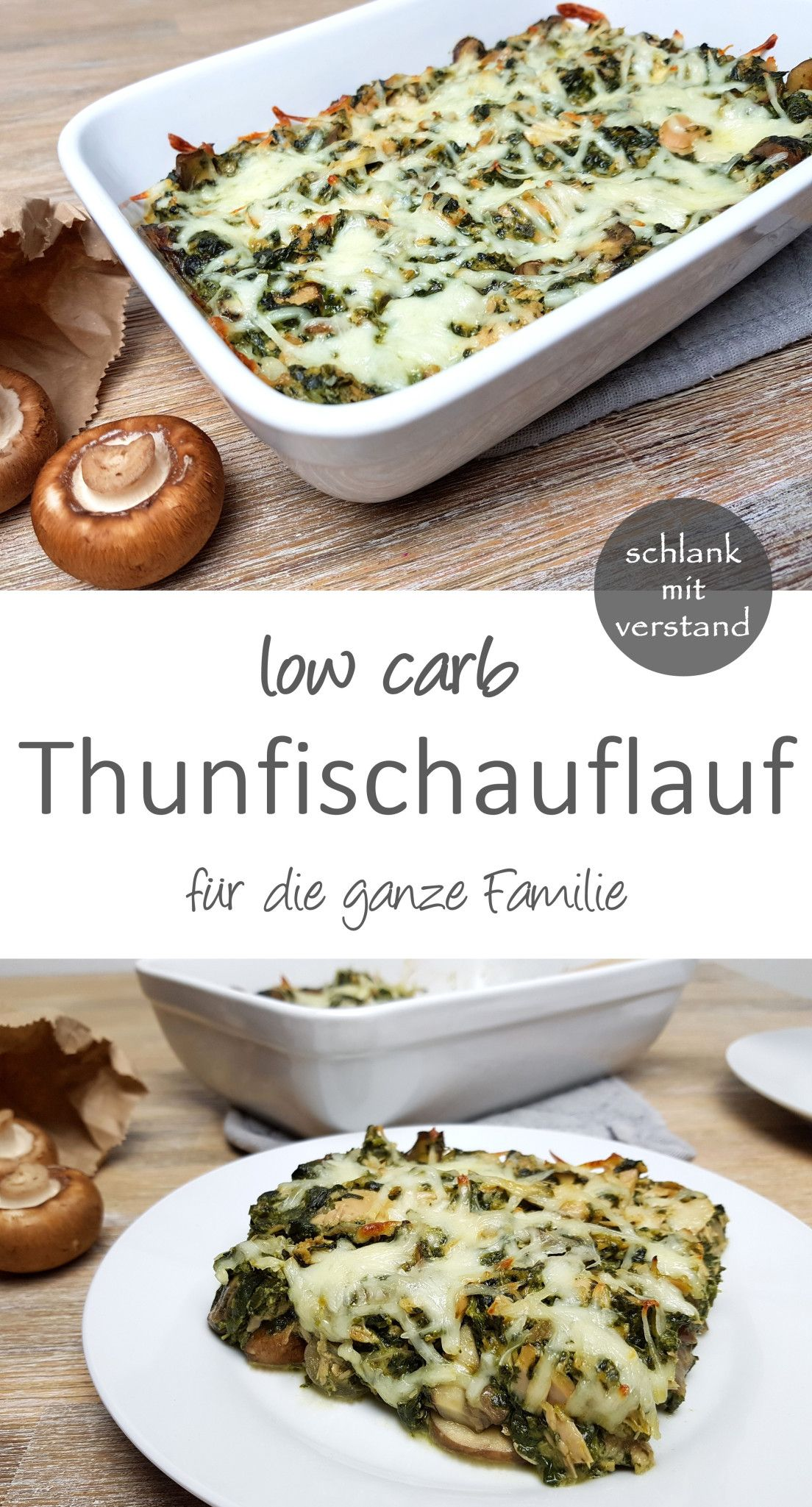 Photo of Thunfischauflauf low carb