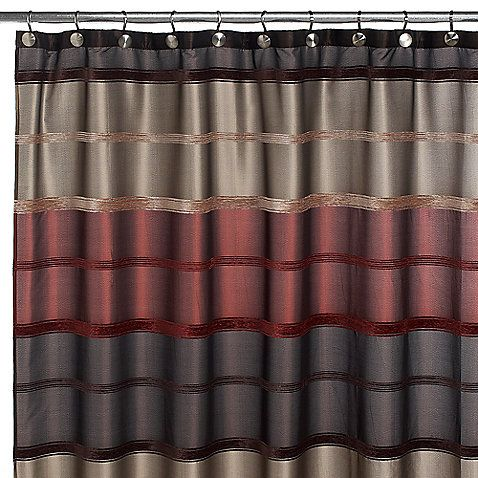 Bombay Rust 72 Inch X 72 Inch Shower Curtain Brown Shower