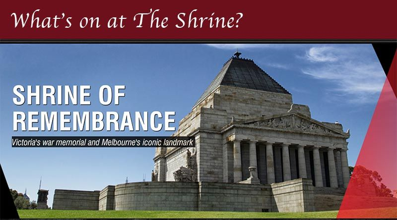 August At The Shrine Shrine Anzac Day War Memorial