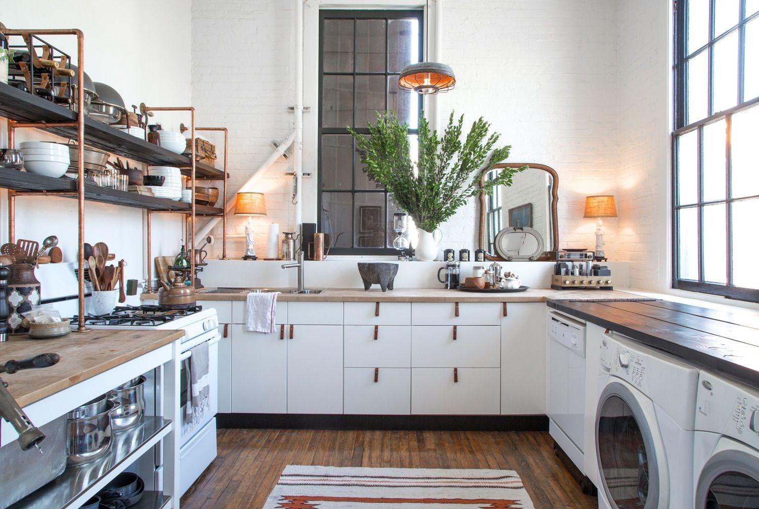 The warm industrial look kitchen style statements to try warm