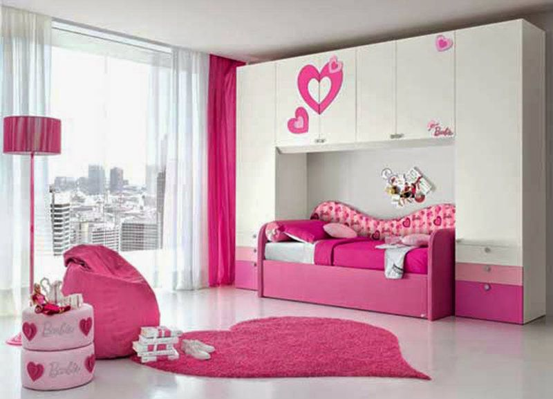 girls furniture bedroom. teenage girl bedroom design ideas pink white color barbie themed style in for teen barbies suggestions your little girls furniture e