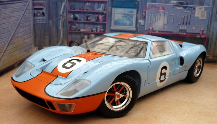 Ford Gt40 Mk1 1969 Le Mans Winner 6 Diecast Scale Model By Spark Ford Gt40 Ford Gt Diecast Cars