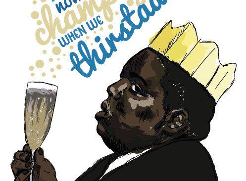 Notorious BIG Birthday Card Juicy Hip Hop Rap Cards – Birthday Card Lyrics
