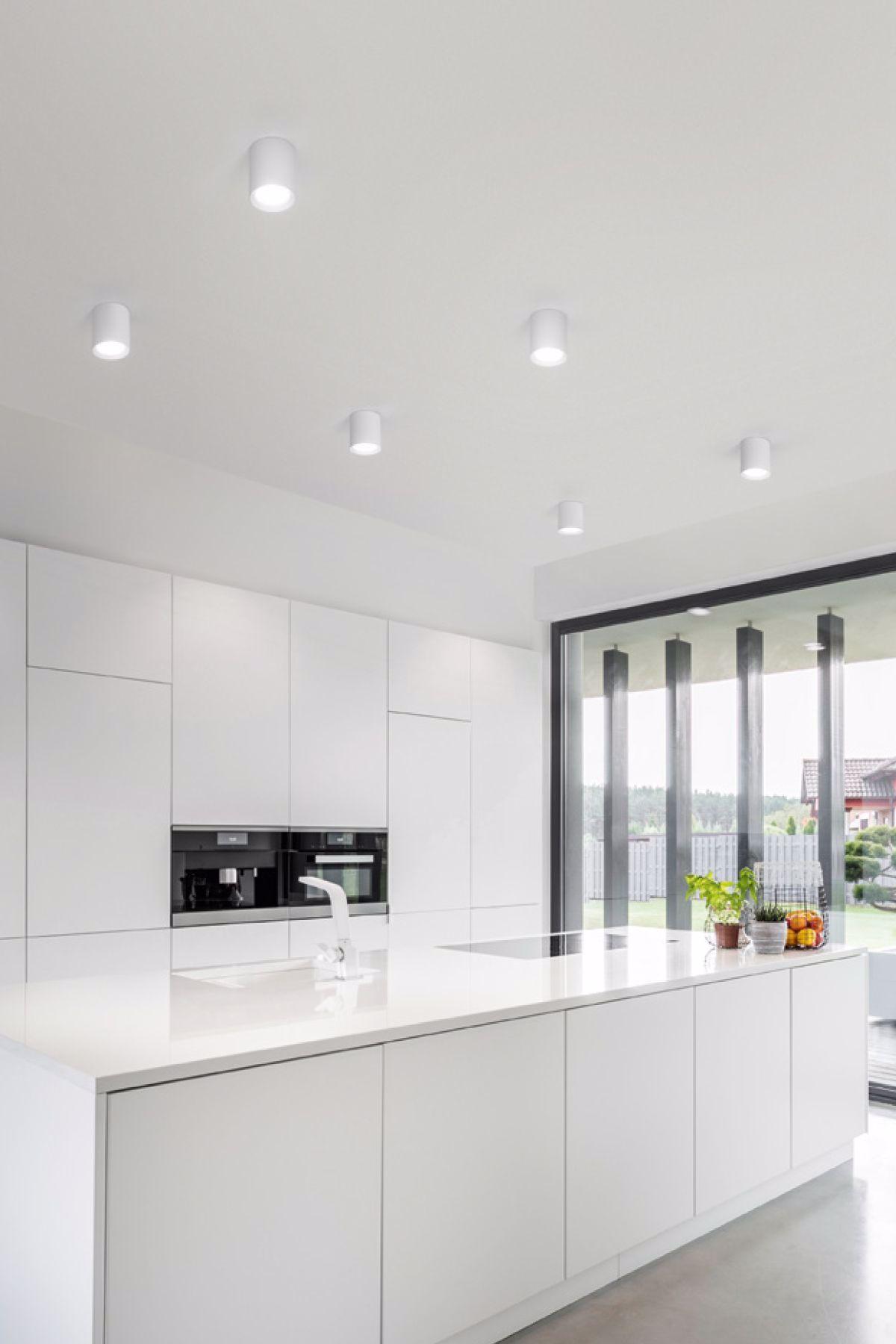 Come Illuminare Una Cucina plafoni led isyluce in alluminio in 2020 (with images