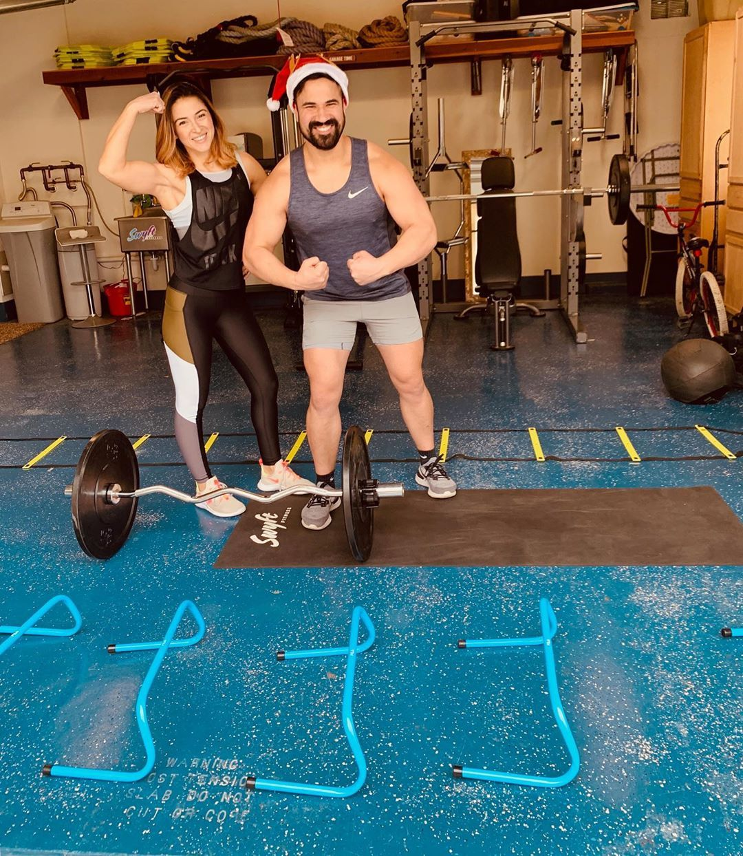 Morning Workout With Bae Theguillermo Merry Fit Mas Fitness Health Strength Christmasday Added To Google Drive Fitness Inspo Workout Morning Workout