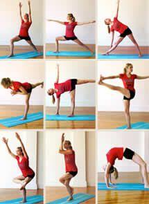 posiciones yoga para adelgazar