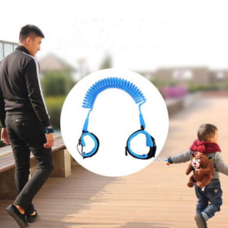 Safety Anti-Lost for Kid Toddler Harness Walking Strap Walker Assistant