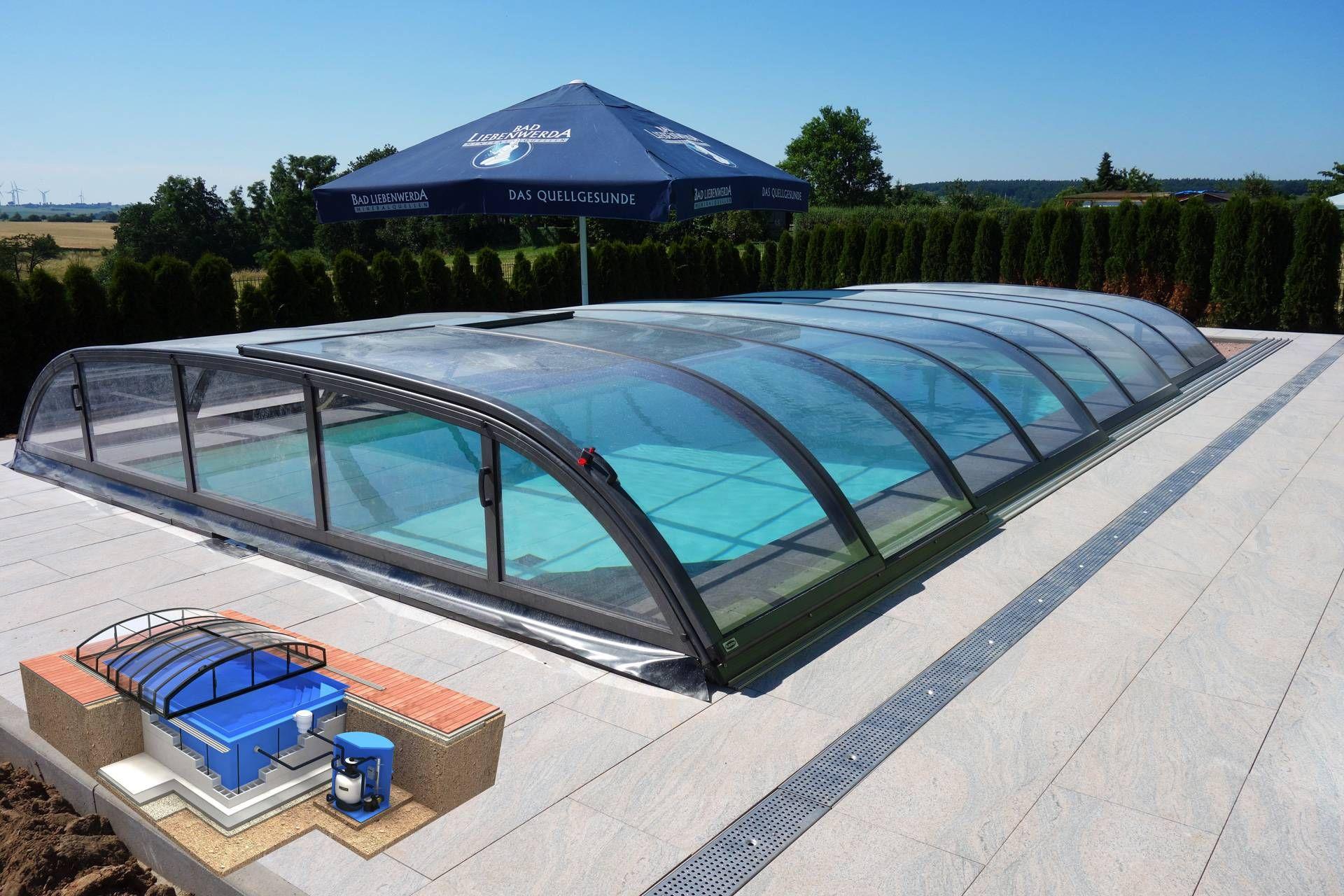 Albixon QBIG Benefit Plus Skimmerpool 3,5x7x1,2m Pool