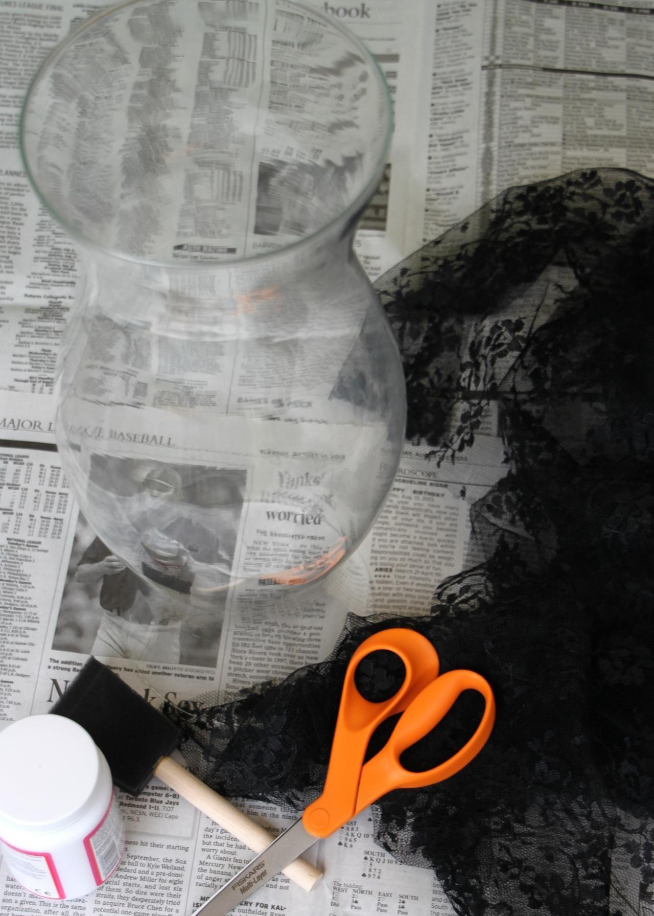 DIY Halloween Décor The Black Widow\u0027s Table DIY Halloween - diy halloween decorations scary