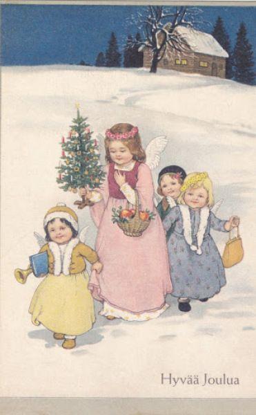 Angels reist met geschenken - Huuto.net